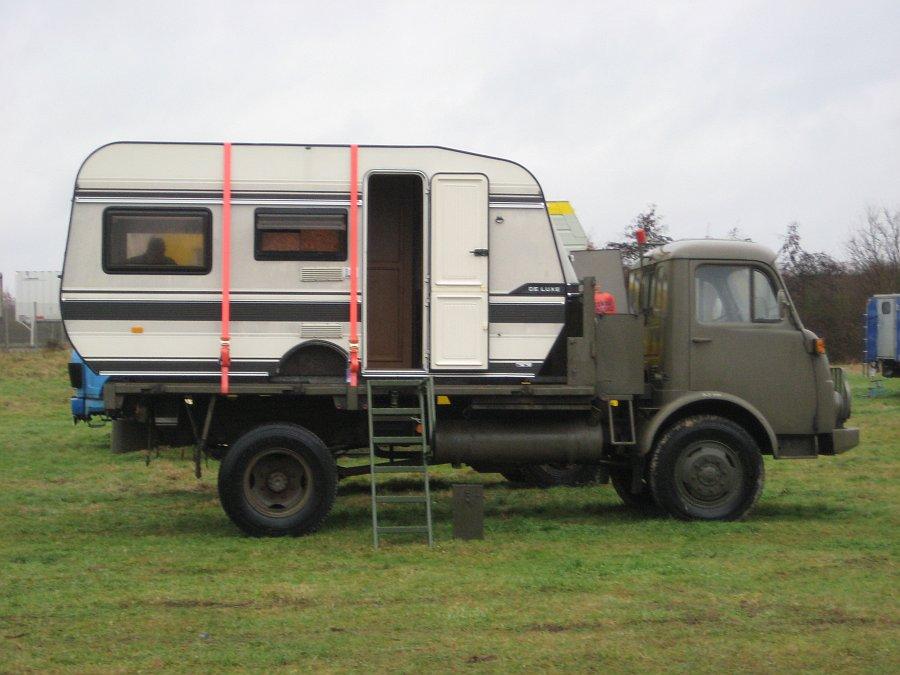 Wohnwagen als Aufbau??? - Allrad-LKW-Gemeinschaft